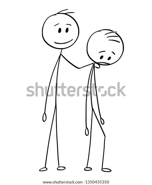 Image Vectorielle De Stock De Dessin De Dessin En Baton Illustrant 1350435350