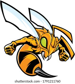 CARTOON STINGER THE KILLER BEE