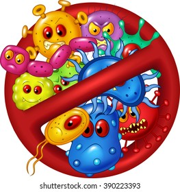 Cartoon stop virus