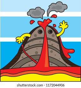 Volcano results cartoon diagram wiring diagram electricity volcano diagram images stock photos vectors shutterstock rh shutterstock com easy volcano diagram easy volcano diagram ccuart Gallery