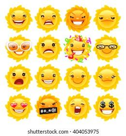 Emoji Sun Images, Stock Photos & Vectors   Shutterstock
