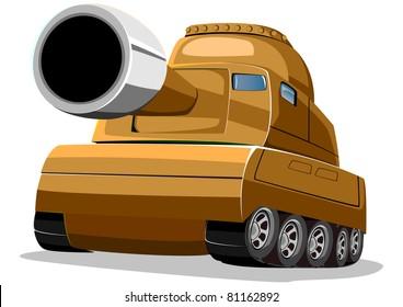 cartoon tank two