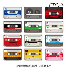cartoon tape icon