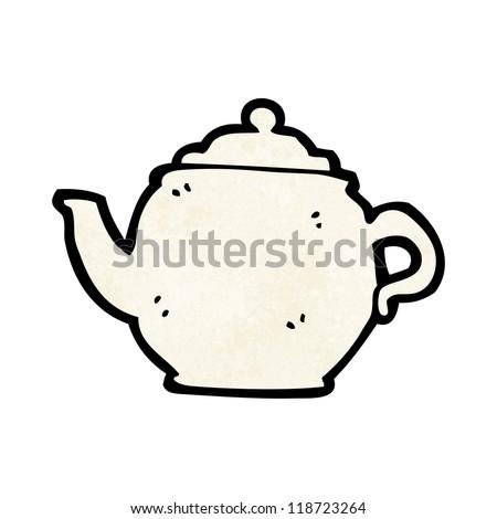 Cartoon Tea Pot Stock Vektorgrafik Lizenzfrei 118723264 Shutterstock
