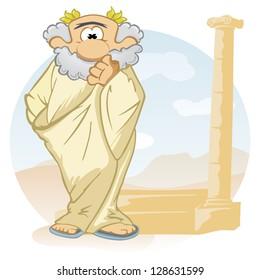 Imágenes Fotos De Stock Y Vectores Sobre Filosofía Caricatura