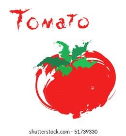 Cartoon tomato