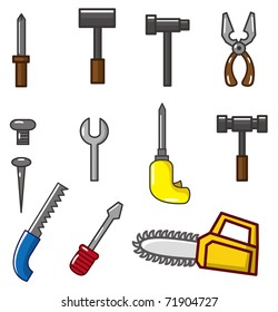 cartoon tool icon