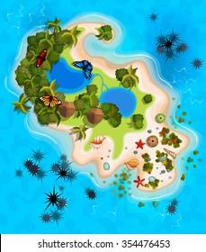 Imagenes Fotos De Stock Y Vectores Sobre Playa Mapa Shutterstock