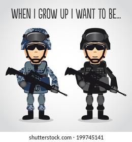 Cartoon U.S. Navy
