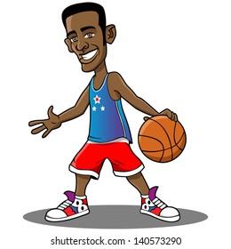 Cartoon Basketball Player Images Stock Photos Vectors Shutterstock