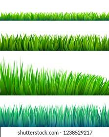Cartoon vector grass