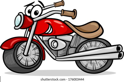 motorcycle comic pictures  Cartoon Motorcycle Images, Stock Photos