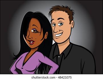 Interracial dating fungerar inte