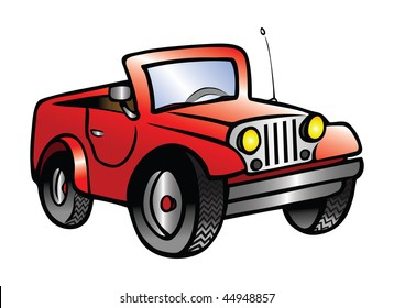Jeep Cartoon Hd Stock Images Shutterstock