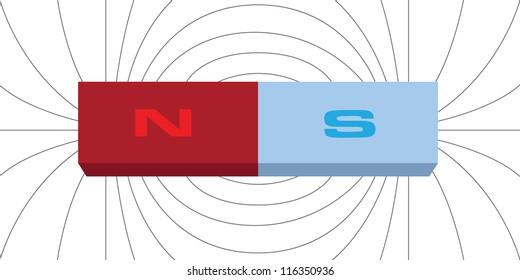 Imágenes, fotos de stock y vectores sobre Magnetic Pole