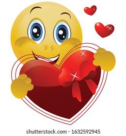 Cartoon Valentine Heart Images Stock Photos Vectors Shutterstock