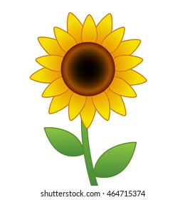 sunflower cartoon images stock photos vectors shutterstock rh shutterstock com sunflower cartoon drawing sunflower cartoon tumblr