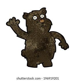 black bear cartoon images stock photos vectors shutterstock rh shutterstock com black bear cartoon names black bear cartoon character