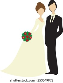 cute wedding couple clipart images stock photos vectors 10 off rh shutterstock com wedding couple clipart cartoon wedding couple clipart free download