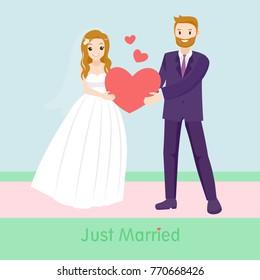 wedding cartoon images stock photos vectors shutterstock