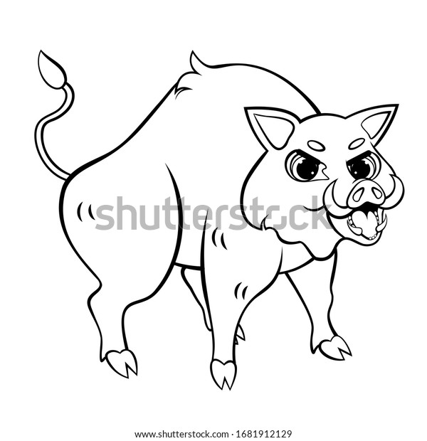 Coloring Page Forest Animals Stock Vector - Illustration of adult ... | 620x600