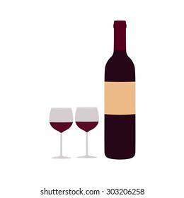 Royalty Free Cartoon Wine Bottle Images Stock Photos Vectors