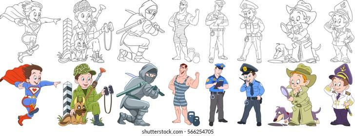 Kid Profession Gorseller Stok Fotograflar Ve Vektorler Shutterstock