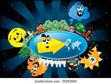 Cartoon World