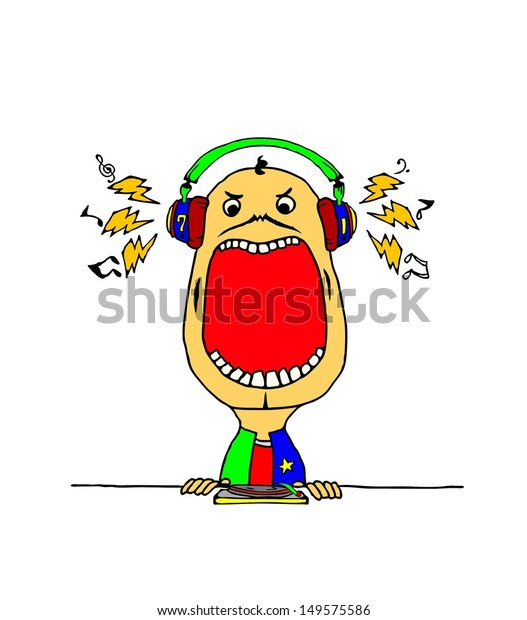 Sound Disc Jockey Clip Art, PNG, 1000x999px, Watercolor, Cartoon, Flower,  Frame, Heart Download Free