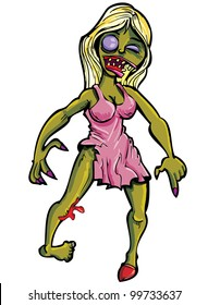 37 Zombie Family Vector Clipart