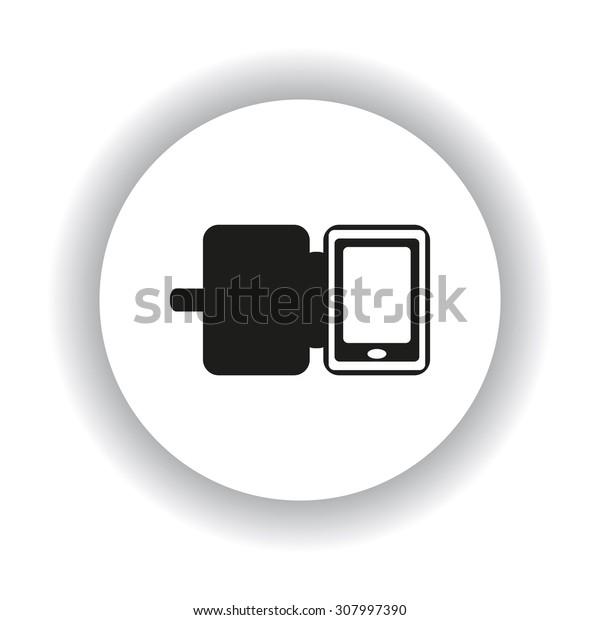 Case for phone. icon. vector design