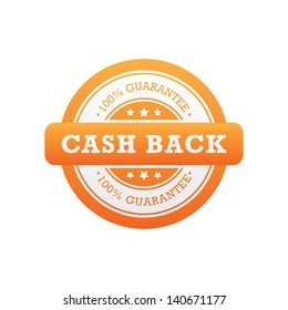 Cash Back Guarantee Label