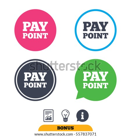 Cash Coin Sign Icon Pay Point Stock Vector (Royalty Free) 557837071