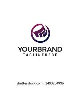 Cash logo design concept template vector