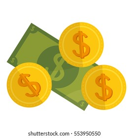 cash money isolated icon