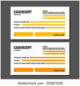 Cash Receipt Template Images Stock Photos Vectors Shutterstock