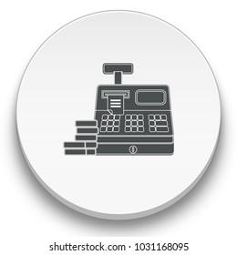 cashbox vector icon
