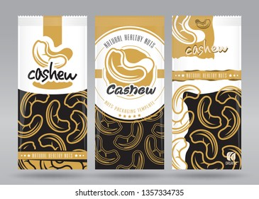Cashew packaging set