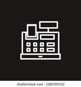 cashier icon. cashier vector design. sign design