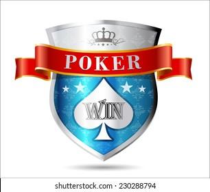 Casino 5 - poker game sign