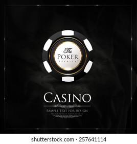 Casino background-vintage-elegant-poker-vip-ace