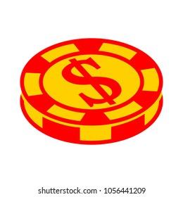 casino dollar icon