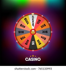 Casino gambling banner and background., Vector, Illustration