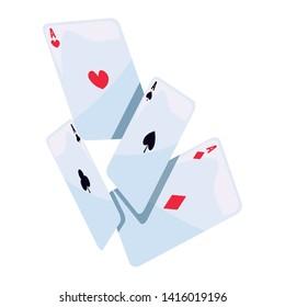 casino and gambling vector ilustration