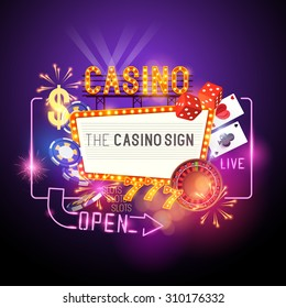 Casino vector illustration design.