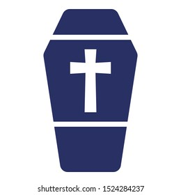 Casket Isolated Vector icon which can easily modify or edit