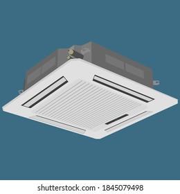 Cassette Air Conditioner, Inverter Air Conditioner
