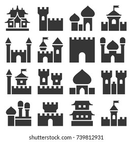 Castle Icon Set