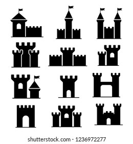 castle, kingdom ion vector