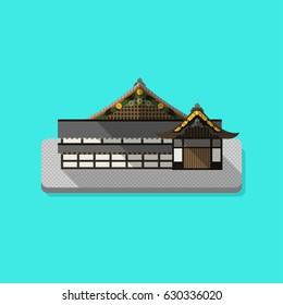 Castle Kyoto Japan.